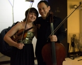 Ilana Zaks, 14, with Bion Tsang