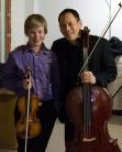 Ludvig Gudim, 15, with Bion Tsang